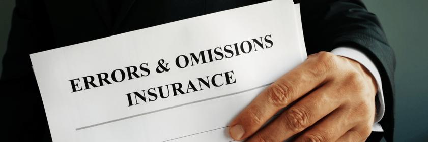 Errors and Omissions Insurance  Massachusetts